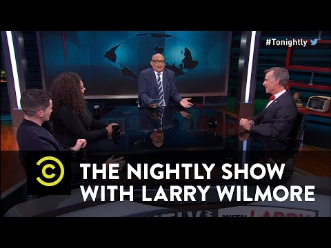 "Bill Nye discusses how incredible it is that flowing water has been found on Mars... and the ""Nightly Show"" proceeds to bring in ignorent panelists that disrespect him, his work, and declare that we shouldn't even give a fuck about this discovery. (re..."