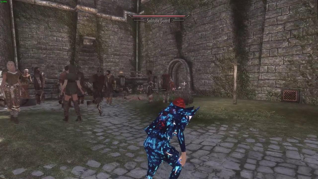 Skyrim Remastered - Cheat Room Spawn npcs