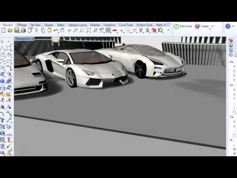 Mid Engine Design with Aventador and MR2