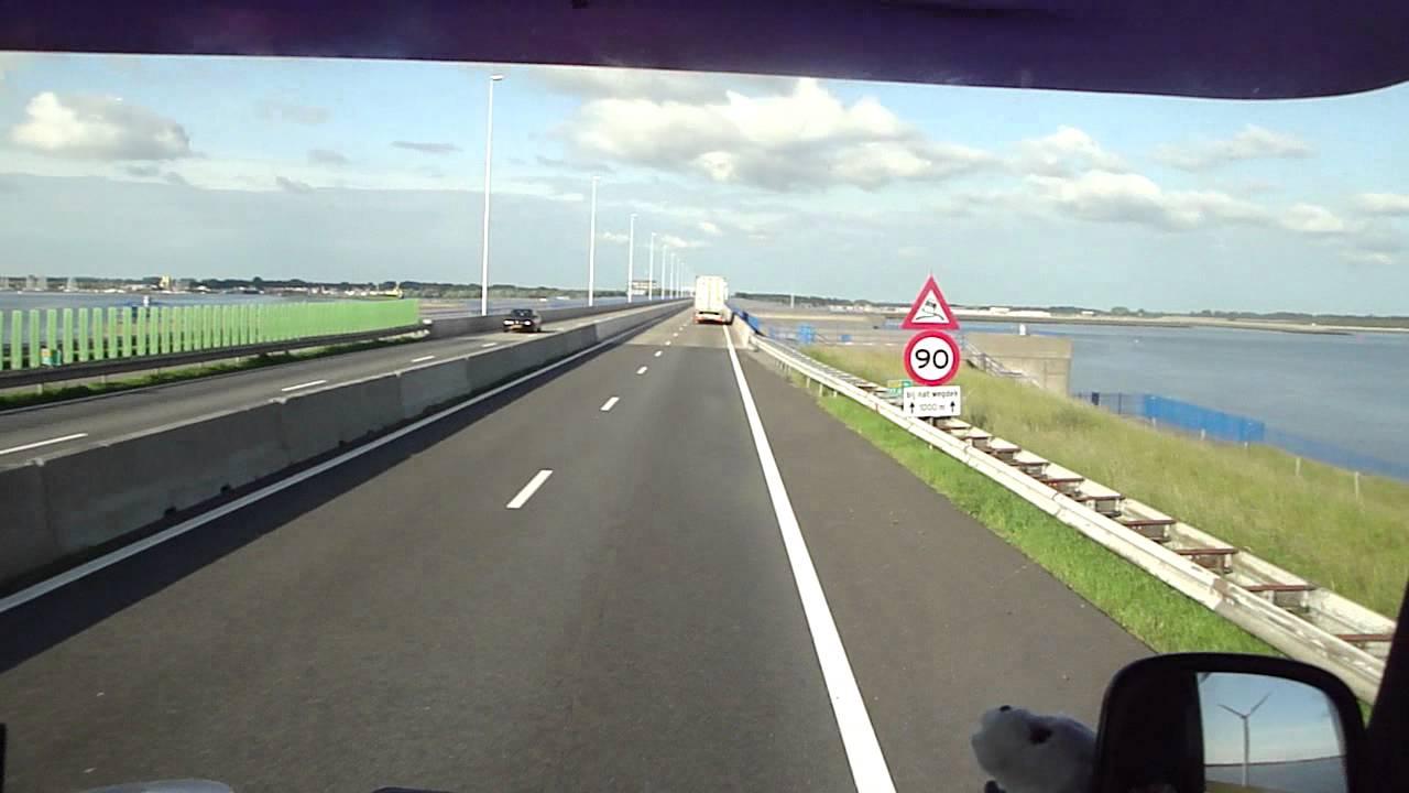 Scania 143 - 450 Streamline Sam Nelis transport to truckshow flakkee 2012 special view