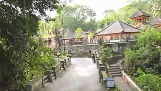 Bali・ウブドの散歩・Pr Gunung Lebah(グヌン・ルバ寺院)周辺