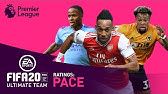 FASTEST Premier League Player?   Traore, Sterling, Aubameyang   FIFA 20   AD