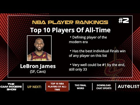 74483fed944252 Top 10 NBA Players Of All-Time - YouTube