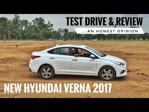 new hyundai verna 2017 honest review test drive price. Black Bedroom Furniture Sets. Home Design Ideas
