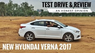 NEW HYUNDAI VERNA 2017 HONEST REVIEW, TEST DRIVE, PRICE