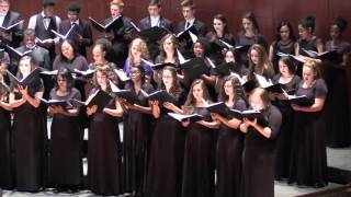 Let the River Run - SVA at Andrews Choir Fest 2016