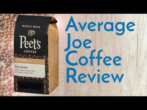 Peet's Big Bang Coffee Review