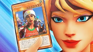 Opening Fortnite TRADING CARDS (REACTION)