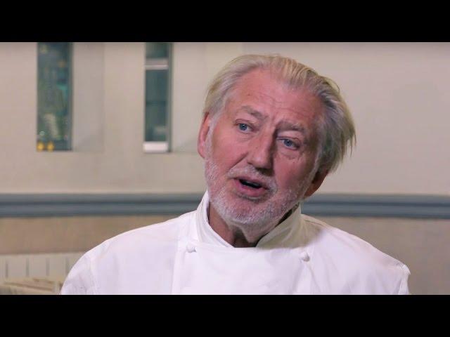 Interview with Chef Pierre Gagnaire at Restaurant Pierre Gagnaire, Paris