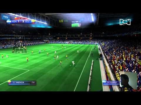 2014 FIFA WORLD CUP Ecuador vs Honduras Historia de las Finales