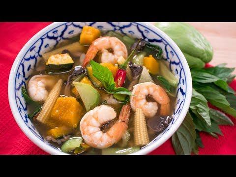 kaeng-liang---breast-milk-booster-shrimp-&-veggie-soup!-แกงเลียง-|-thai-recipes