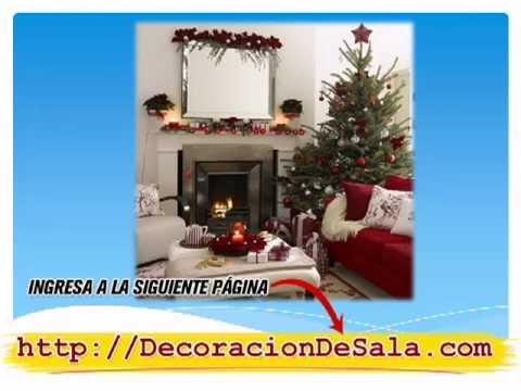 Decoración de Salas para Navidad [Ideas Para Navidad] - YouTube
