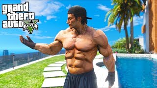 Is the STRONGEST man in GTA 5 a good fighter?! (GTA 5 Mods Gameplay)