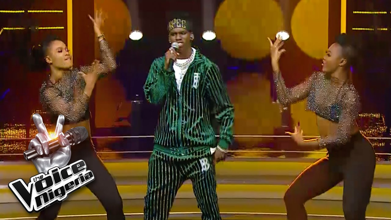 KPee - Vibration | Live Shows | The Voice Nigeria Season 3