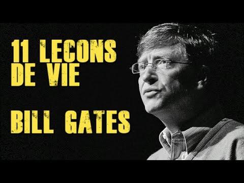 11 Leçons De Vie De Bill Gates