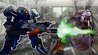 �������� ���� GIANT BUGS ATTACK! - Earth Defense Force 4.1 Multiplayer Gameplay ������