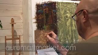 Видео урок живописи Манускрипты старых мастеров