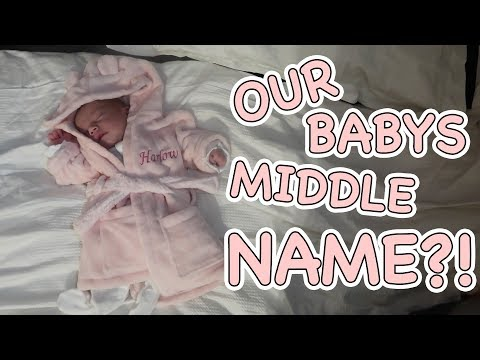 OUR BABYS MIDDLE NAME ANNOUNCEMENT AND THE REASON BEHIND IT! || Casey Barker Vlogs
