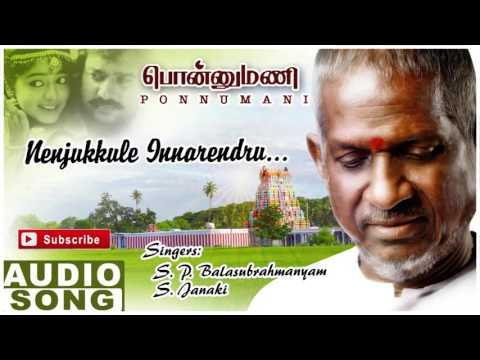 Ponnumani Tamil Movie Songs   Nenjukulle Song   Karthik   Soundarya   Ilayaraja   Music Master