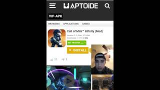 Call Of Mini Infinity Hacked App - Android (No Root)