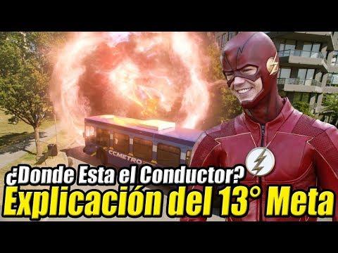¿Que pasó con el Conductor del Autobus de Metahumanos? - EXPLICACIÓN The Flash Temporada 4