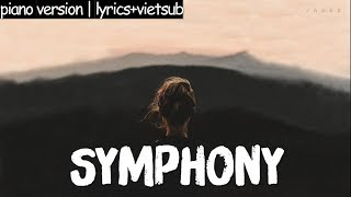Symphony | LYRIC + VIETSUB - Clean Bandit feat. Zara Larsson (Romy Wave piano cover)