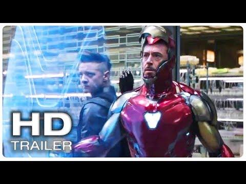 AVENGERS 4 ENDGAME Iron Man new Suit Trailer (NEW 2019) Marvel Superhero Movie HD