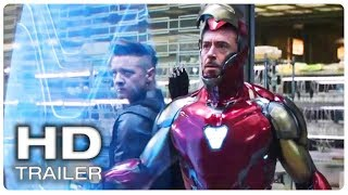 AVENGERS 4 ENDGAME Iron Man new Suit Trailer (NEW 2019) Marvel Superhero Movie HD