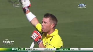 Warner tons up to continue incredible form