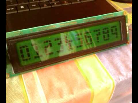 Arduino With 40x4 Lcd Hd44780 Youtube