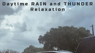 Thirty Minutes of Rain and Loud Thunder • Relaxation Video