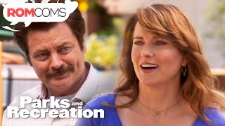 Ron Meets Diane (Warrior Princess) - Parks And Recreation | Love, The Home Of Romance