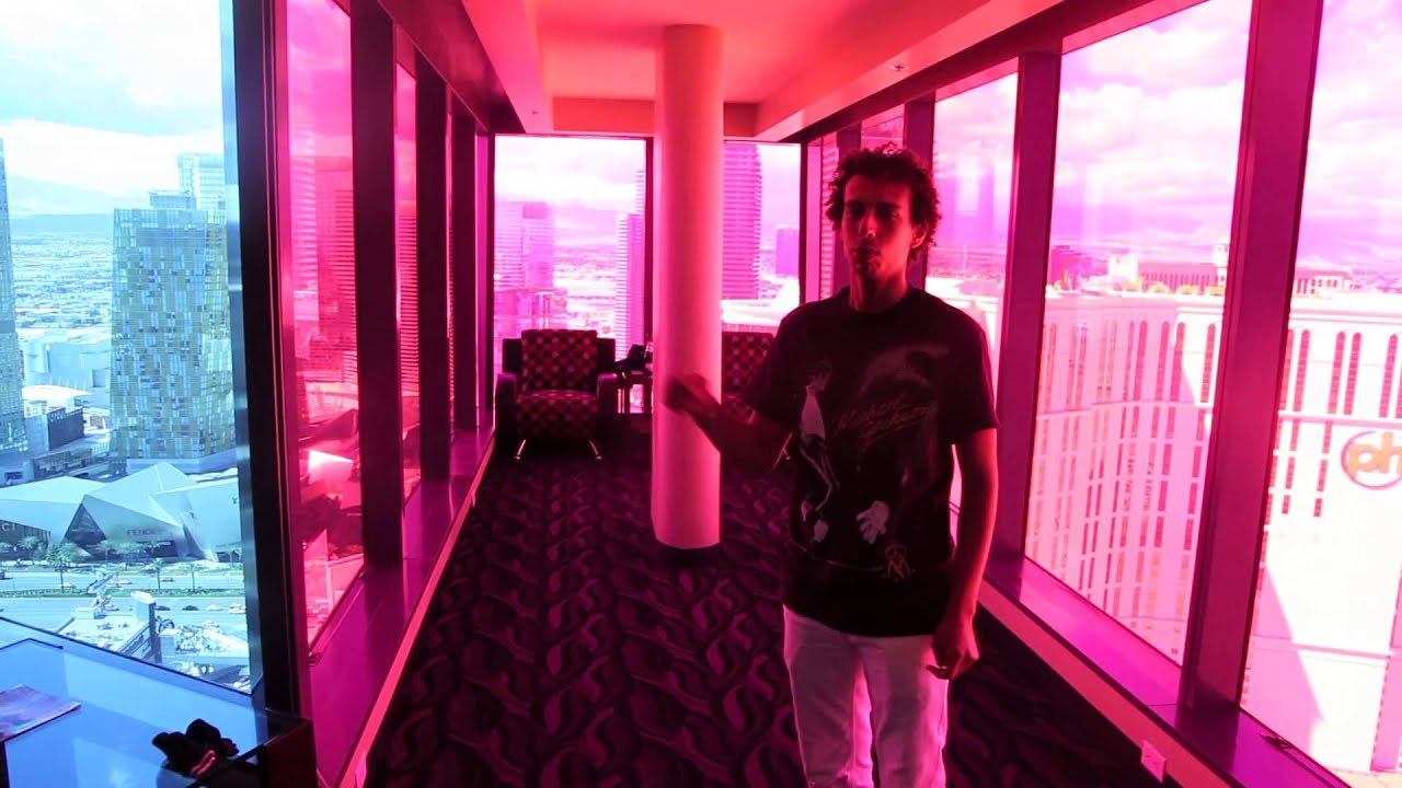 Planet Hollywood Towers 2 Bedroom Suite Craziest Suite In Vegas Tour Youtube