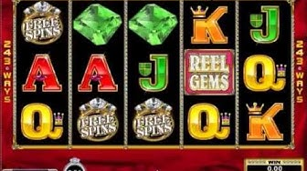 Reel Gems Re-Spin, Free Spins and 4100 Big Win