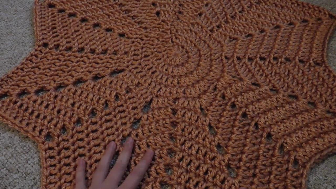 Beautiful Häkeln Sterne Teppich Muster Festooning - Decke Stricken ...