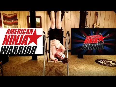 Inversion Table YouTube Ninja Warrior Workout!