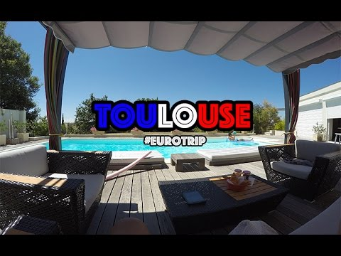 VLOG #45 | LIVING IT OUT IN TOULOUSE | GOPRO HERO 4 | #Eurotrip