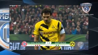 Bayern Munich falló 4 penales ante Borussia Dortmund