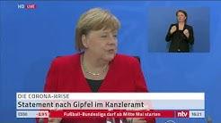 Corona LIVE: Merkel zu den neuen Lockerungen