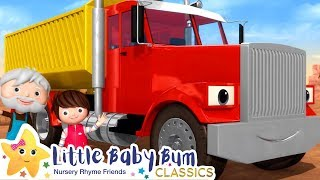 The Truck Song! +More Nursery Rhymes & Kids Songs - ABCs and 123s | Learn with Little Baby Bum