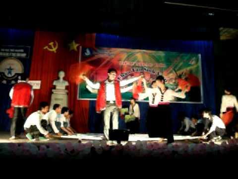 Nhảy sạp khoa cơ khí (Chào K7 TNUT)