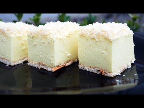Торт Без Выпечки СНЕЖНЫЙ ПУХ! НОВЫЙ РЕЦЕПТ! Его Вкус сводит с ума! Остановиться НЕВОЗМОЖНО!
