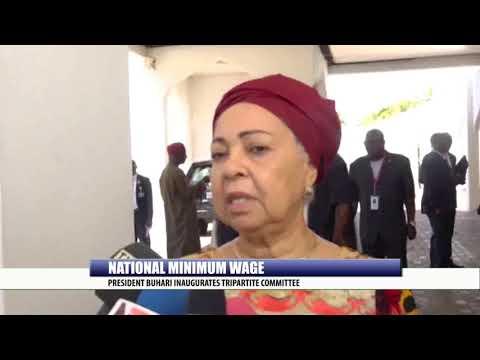 NATIONAL MINIMUM WAGE: PRESIDENT BUHARI INAUGURATES TRIPARTITE COMMITTEE