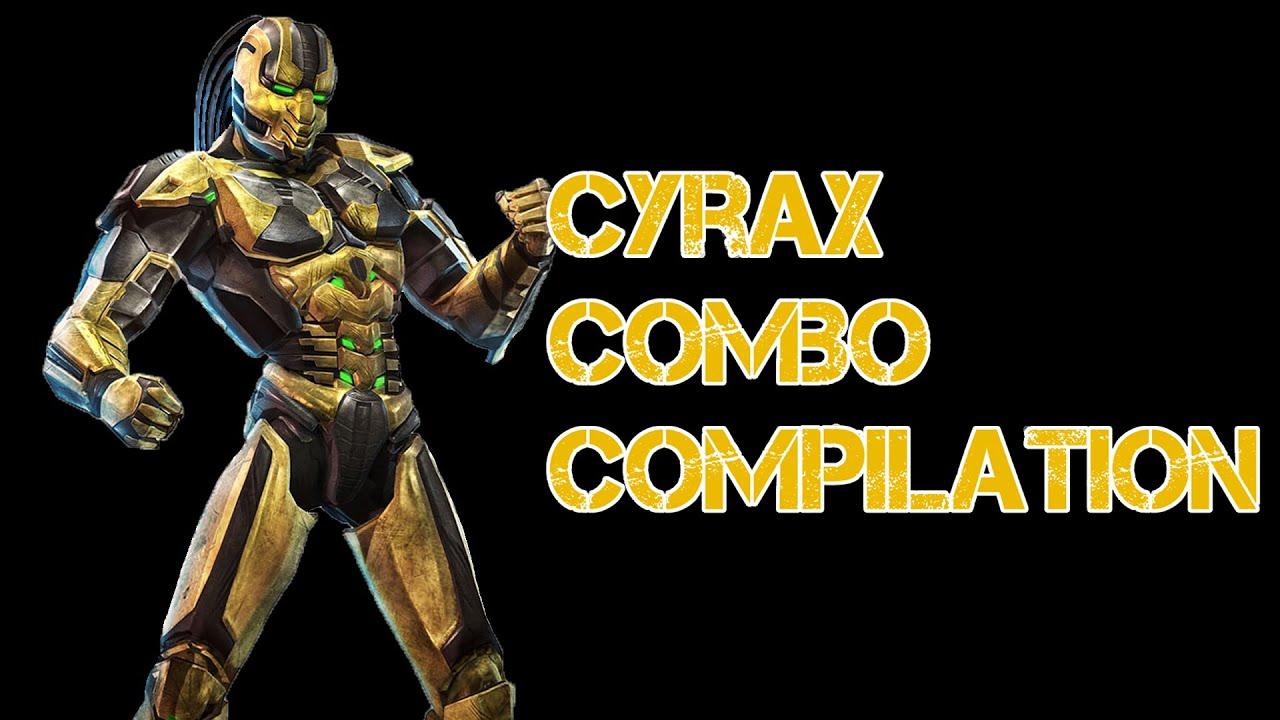 Cyrax mortal kombat 9