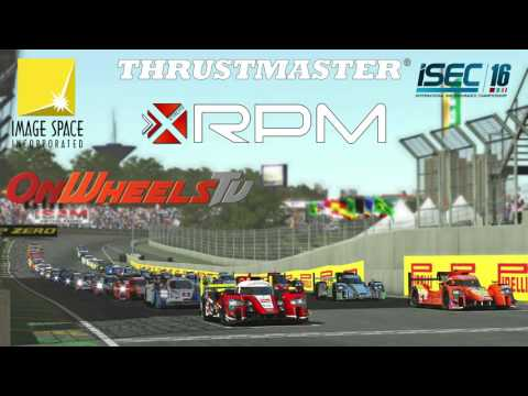 [rFactor 2] ISEC 2016: Round 7 - Thrustmaster 6 Hours of Bahrain