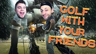 NOWA PIRACKA MAPA! | Golf With Your Friends [#35] (With: Kubson, Diabeuu, Dobrodziej)