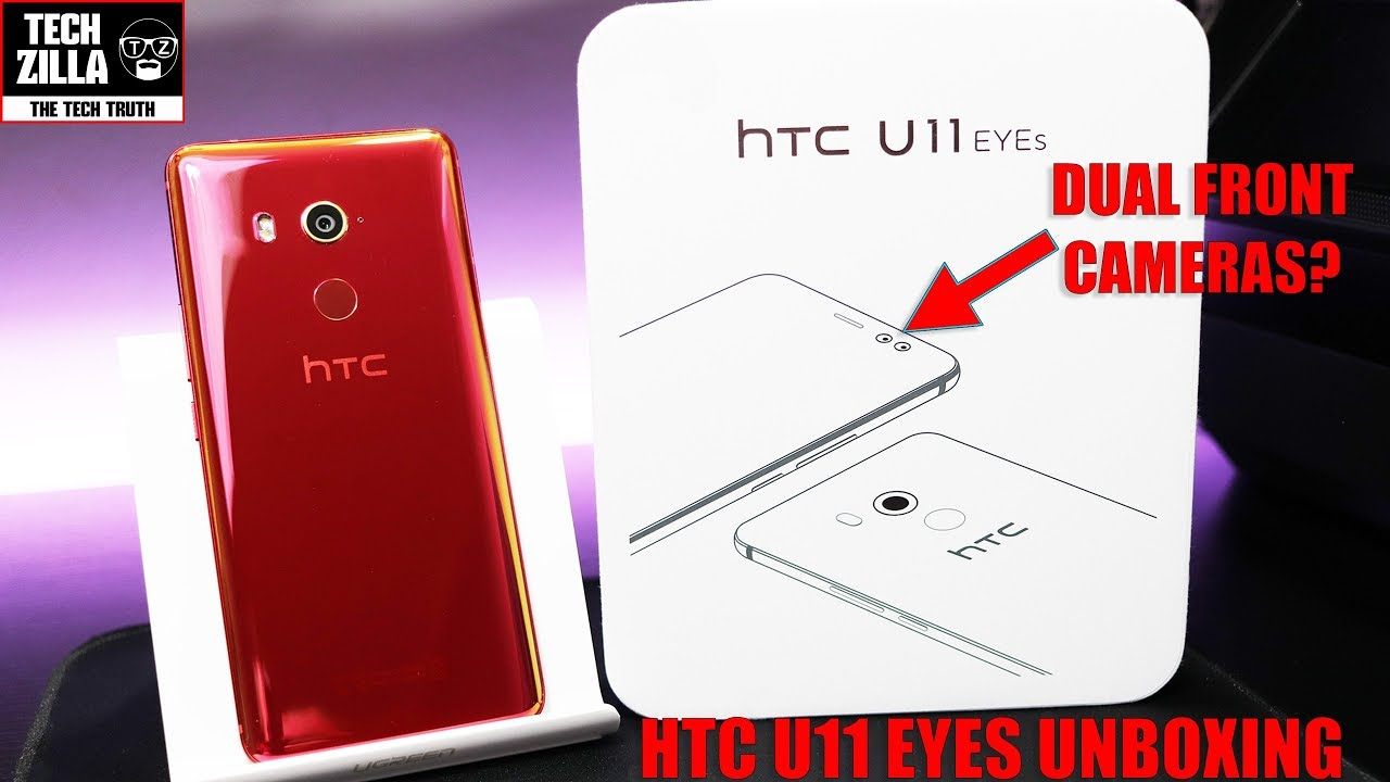 promo code dc023 0477e HTC U11 EYES - Unboxing - First Impressions - Hands On