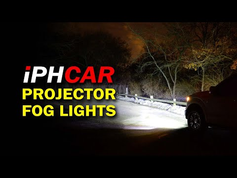 IPH CAR Projector Fog Lights With 55W HID Kits - Available Online Through Hotcar (www.hotcarshop.in)