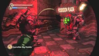 Bioshock - 2 Bouncer Big Daddies Fighting