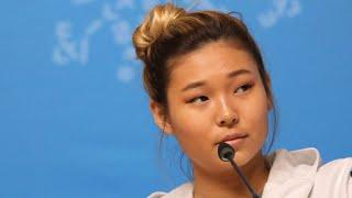 Koreans go ga-ga for American snowboarder Kim at Olympics